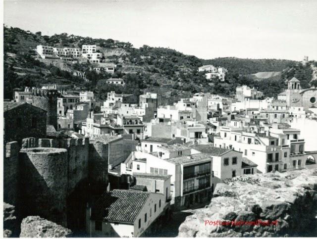 Postcards from the lot tossa de mar then and now for Oficina de turismo tossa de mar