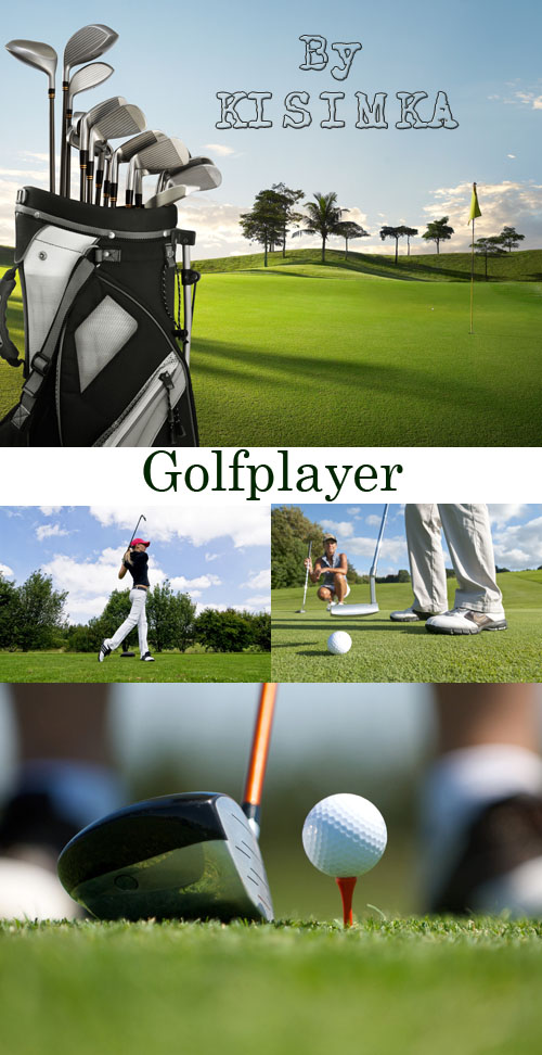Stock Photo: Golfplayer
