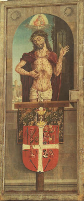 Bernt Notke's altar. Detail.