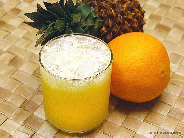 Hawaiian Orange Blossom Cocktail Drink