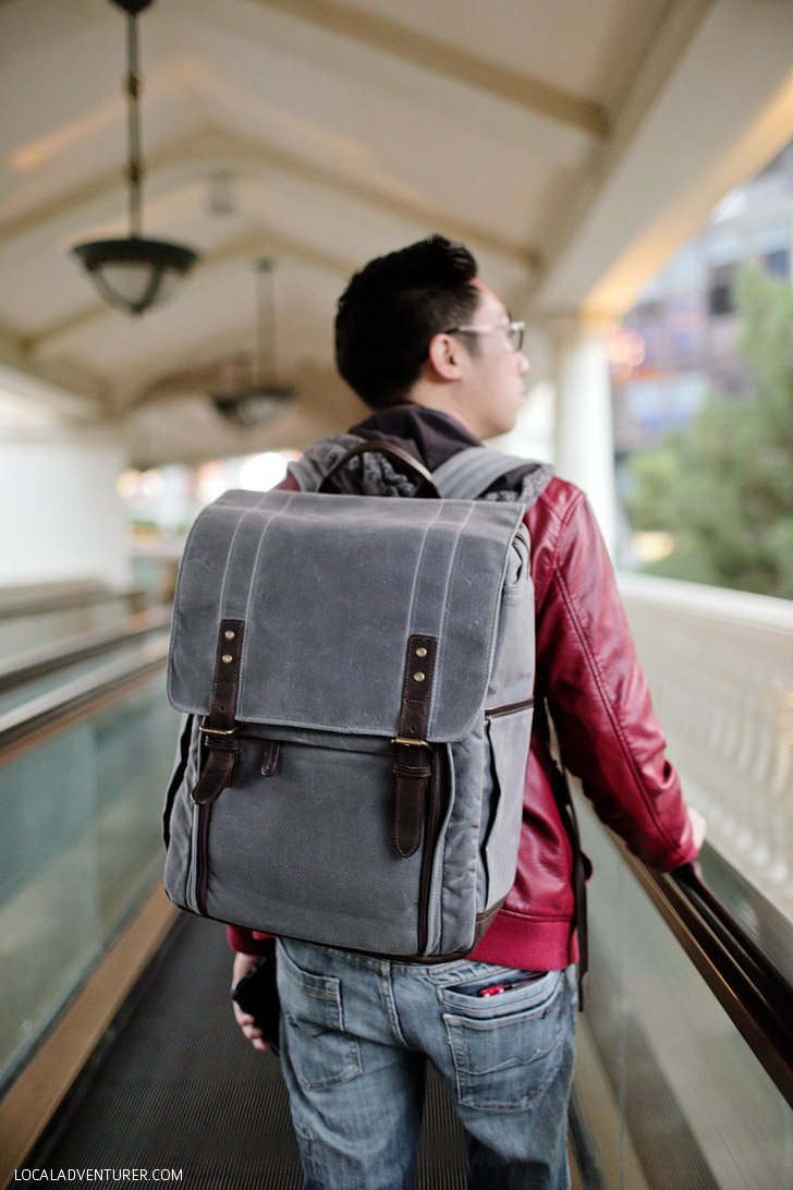 Ona Bags Review // Ona Camera Laptop Backpack.