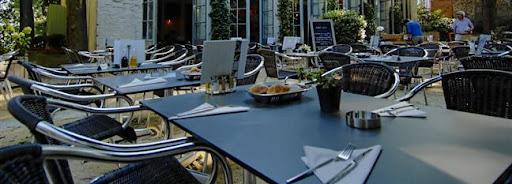 Bruselas Valonia: terraza restaurante
