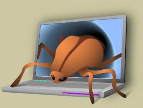 ciri komputer kena virus