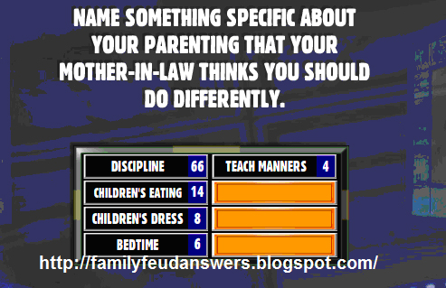 facebook family feud answers name something specific. Black Bedroom Furniture Sets. Home Design Ideas