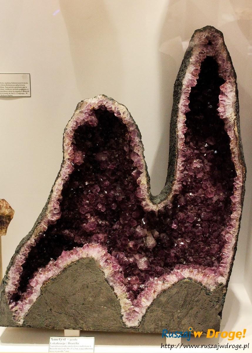 Muzeum Minerałów w Świętej Katarzynie - kamień ametyst
