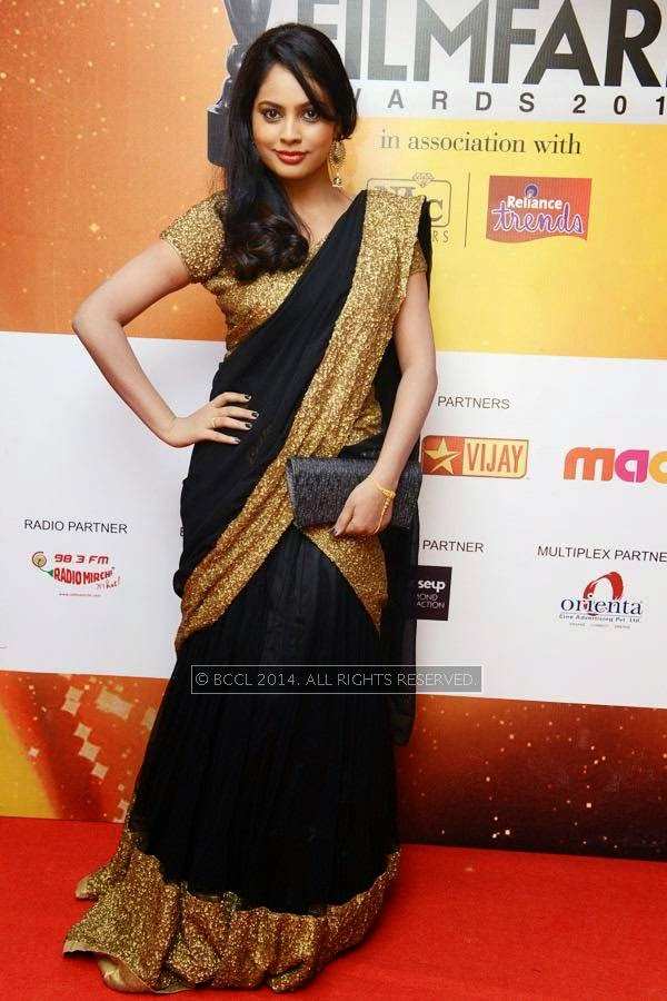 Nandita during the 61st Idea Filmfare Awards South, held at Jawaharlal Nehru Stadium in Chennai, on July 12, 2014.