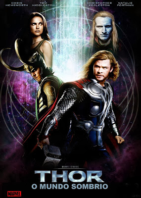 Filme Poster Thor: O Mundo Sombrio HDRip XviD Dual Audio & RMVB Dublado