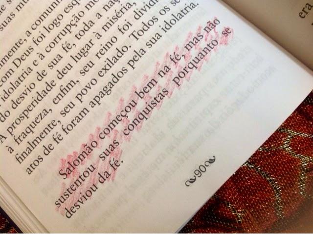 De nada adianta conquistar e desviar da fé.