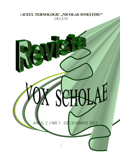 ed3_gimnaziu_vox scholae_Liceul Tehnologic_NICOLAE ISTRATOIU_Deleni_CONSTANTA