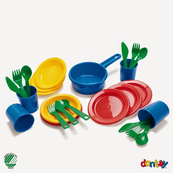 Đồ chơi nhựa cao cấp cho bé - bộ thìa, dĩa và cốc