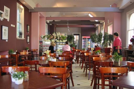 At Roses Cafe. Goulburn, Australia