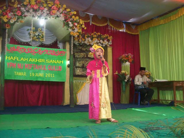 Lomba pidato tingkat Madrasah Ibtidaiyah
