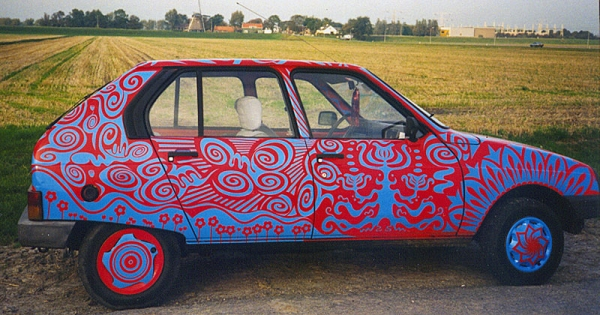 Citroen Visa Art Car By Patricia Van Lubeck