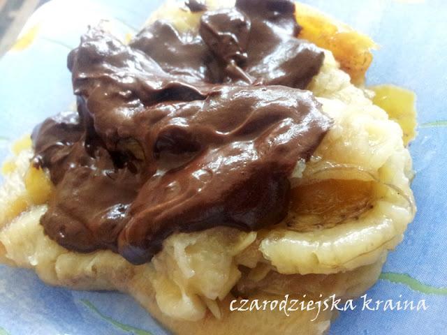 Banany z imbirem w czekoladzie