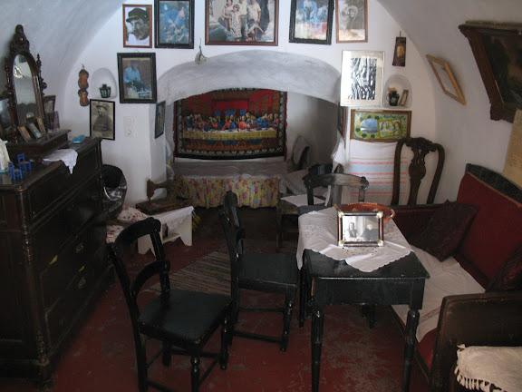 Casa de pescador de Oia, Santorini
