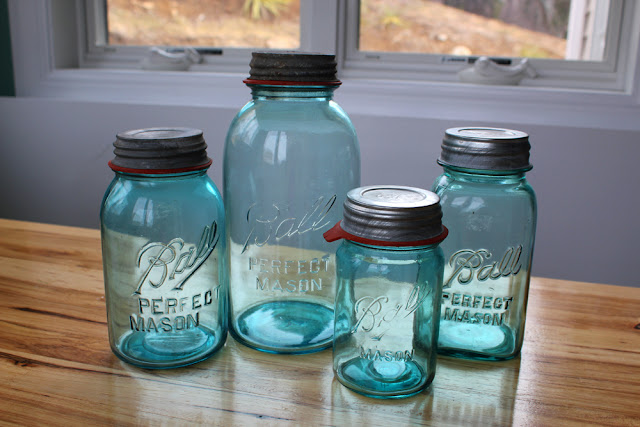 kitchen decor ball jars and vintage globes blogher