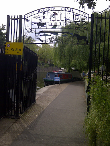 The canal at Lisson Grove