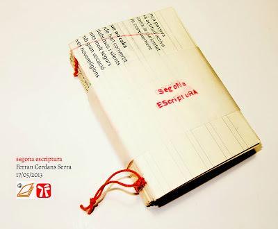 Quadern artesà Segona escriptura