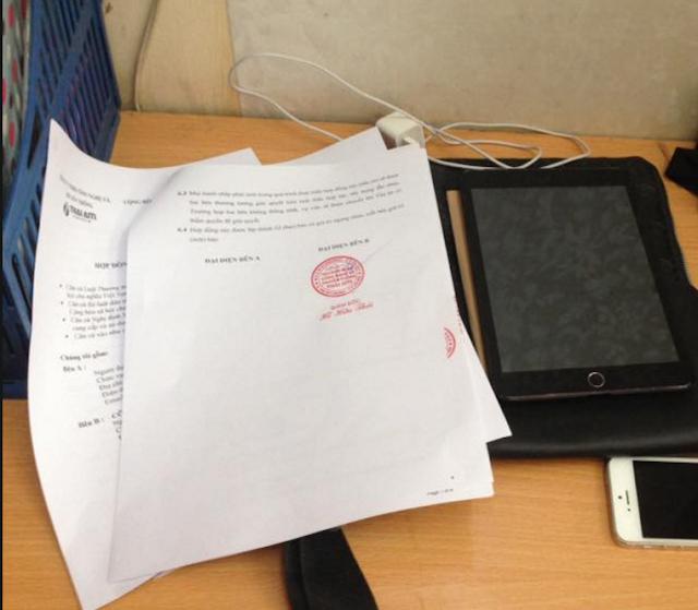 ThaiAiTi ký hợp đồng thiết kế web báo giaitriexpress