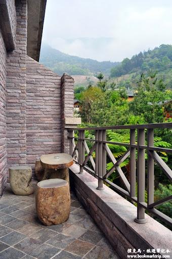 沙里仙溫泉度假村陽台