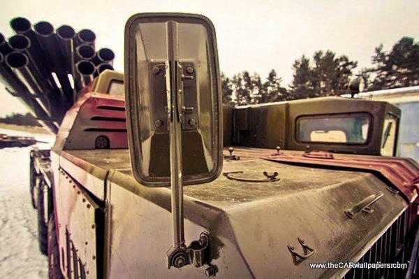MAZ 543M Smerch Russian Military