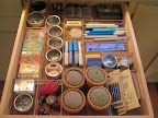 My favorite—the sewing notions drawer!