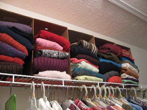 diy shelf dividers for closets 2