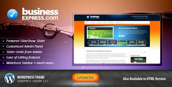 Themeforest Business Express Wordpress Template v2.8.7