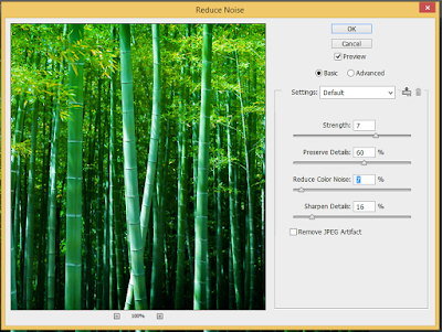 Bộ lọc Filter Noise trong Photoshop