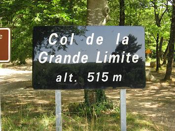 (Grand) panneau au sommet