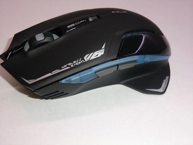 Обзор беспроводной игровой мыши E-3lue 6D Mazer II 2500 DPI Blue LED 2.4GHz