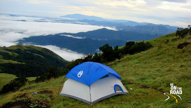 Living above the clouds at Kumaraparvatha