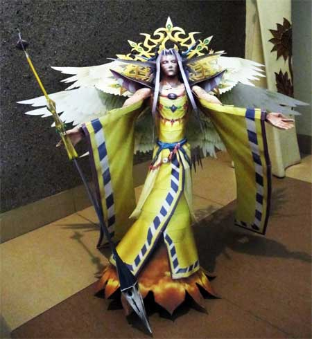 Dissidia 012 The Emperor Papercraft Arubboth