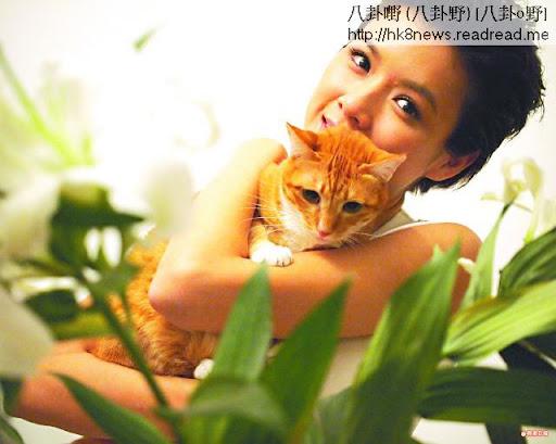 愛貓April性格嬌嗲黐人,結果令陳茵媺一抱難忘。