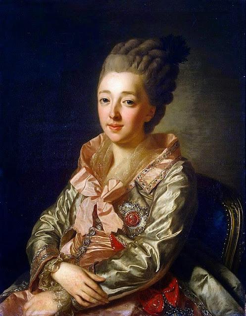 Alexander Roslin - Portrait of Grand Duchess Natalia Alexeyevna