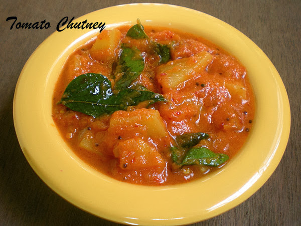 Tomato Chutney with Potato Recipe