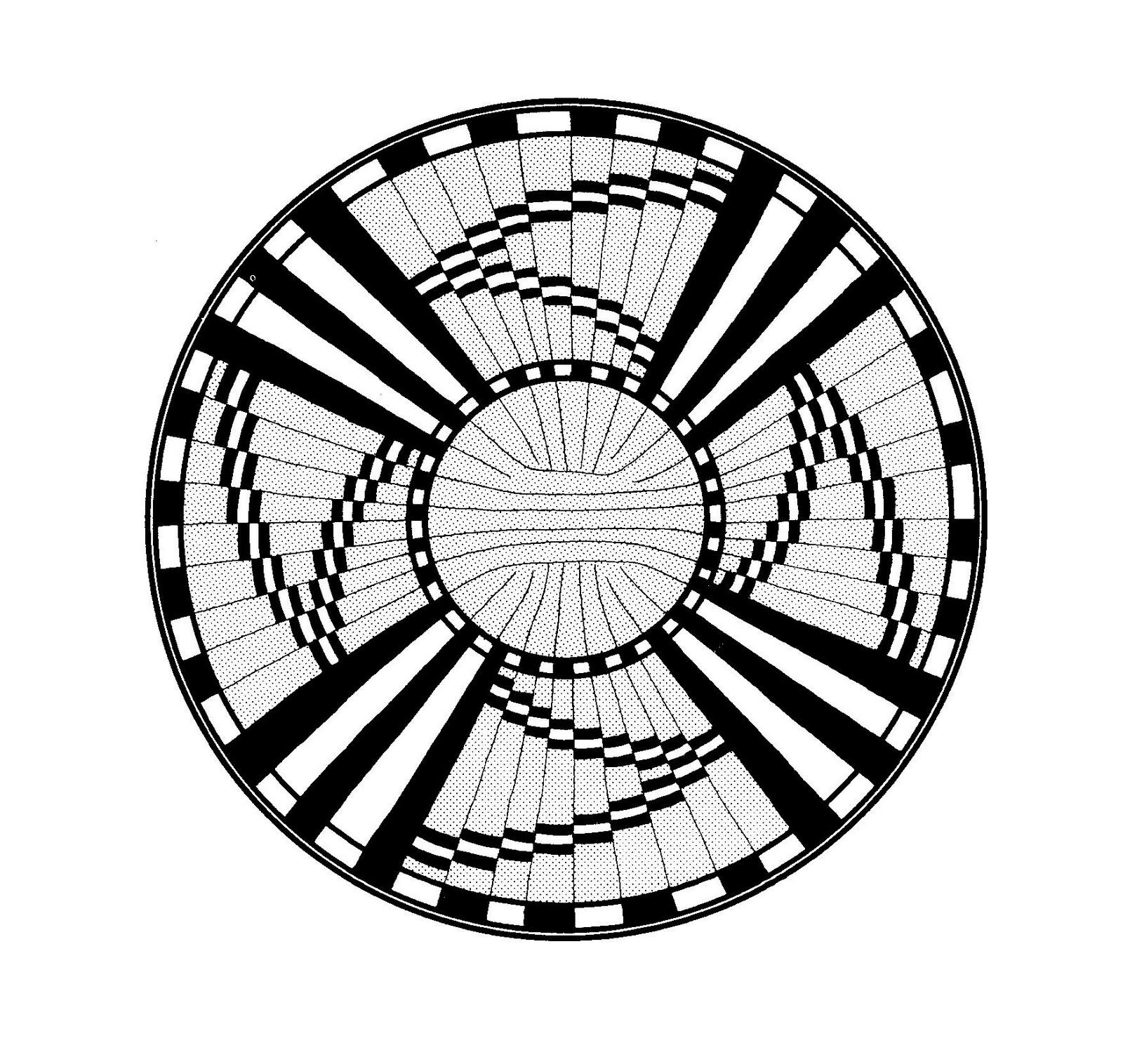 Mandalas Para Pintar: Diseño Hopi (Arizona)