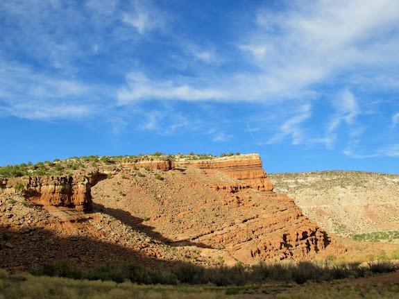 Entrada Sandstone cliffs