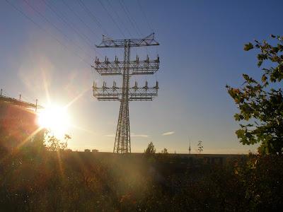 Berlin, Sonne, Blick in die Ferne, Fernsehturm
