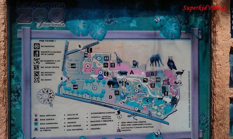 瓜京動物園平面圖