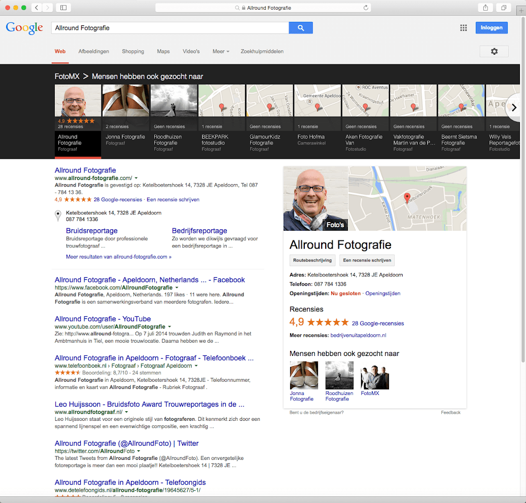 Google Carrousel in Nederland gespot!