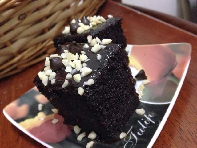 Pda Jawe Dot Com: [ReSePi] Kek Coklat Moist Yang Best Sangat