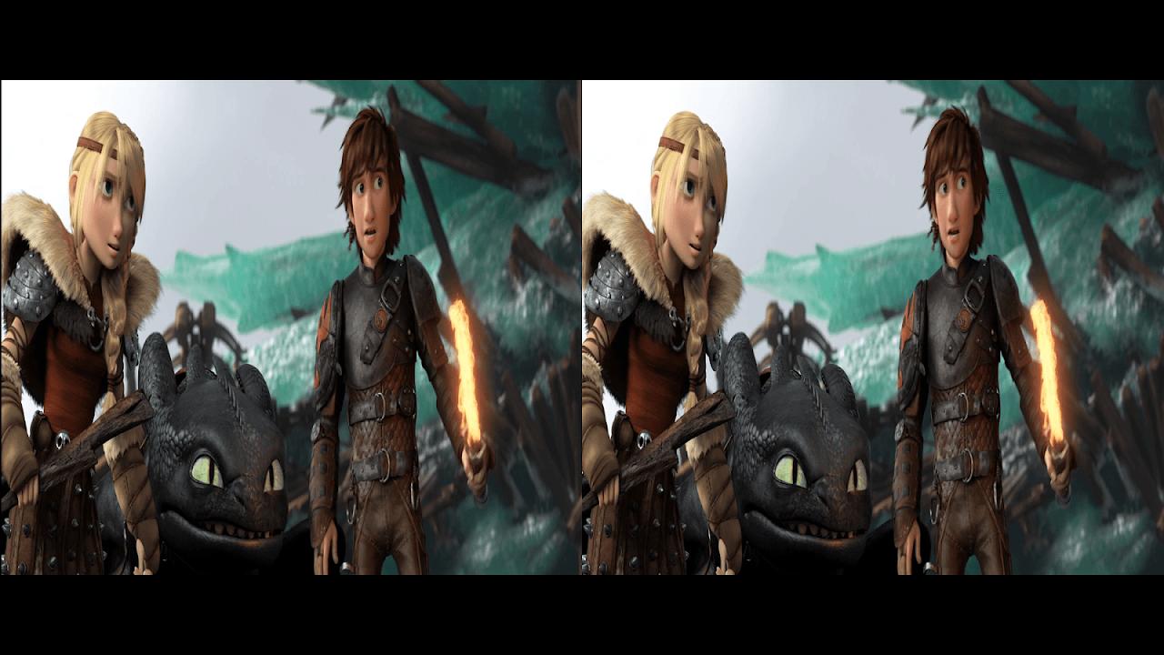 Seu Dragão 2 3D Half-SBS BluRay 1080p Dual Áudio  Elite dos BluRays