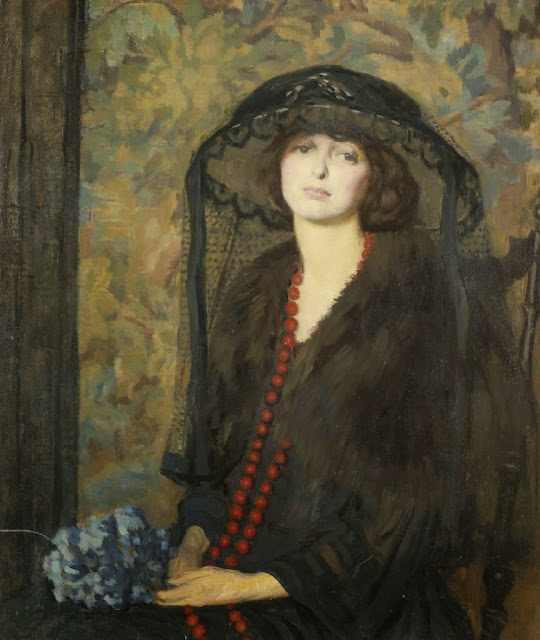 Philip Leslie Hale - The red necklace