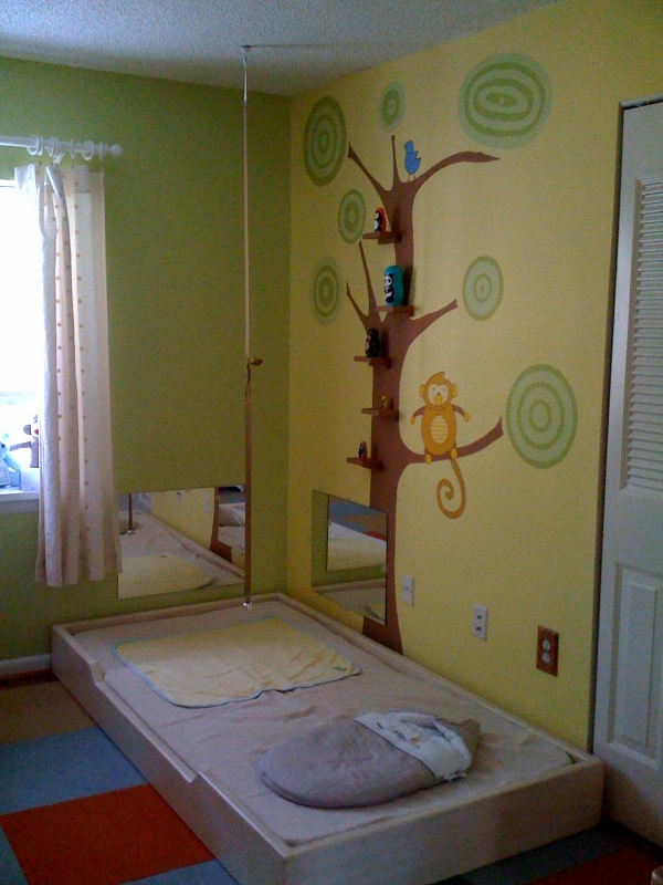 more than just montessori the nursery floor beds and