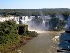 Las cataratas de Iguaçu desde el lado de Brasil