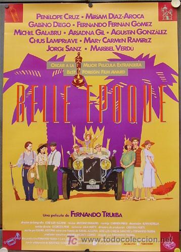 Belle Epoque, película dirigida por Fernando Trueba que recibe el Óscar a la mejor película extranjera de habla no inglesa (1993)