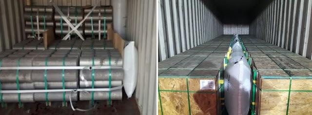 Túi khí đóng hàng trong container Stopak