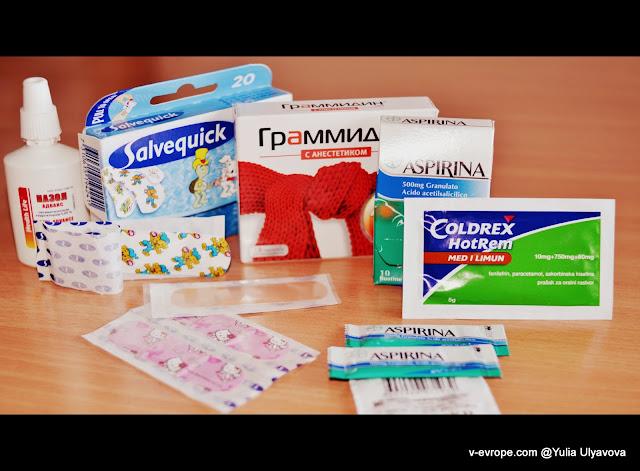 какие лекарства взять в путешествие?