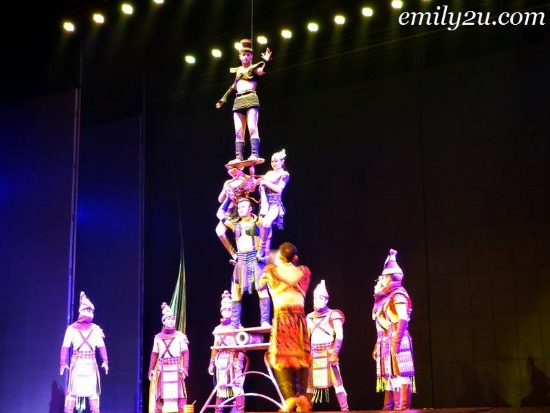 Beijing acrobatic performance